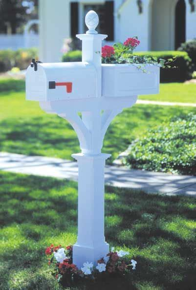 mailbox planter woodworking plan outdoor outdoor
