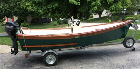 peeler skiff small boats magazine