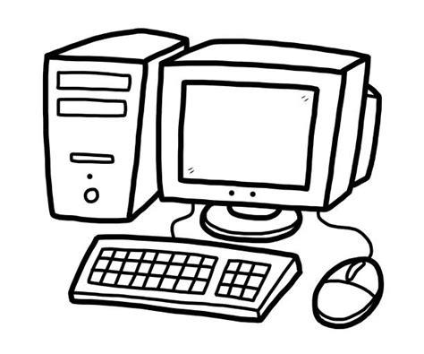 drawing   computer cpu illustrations royalty