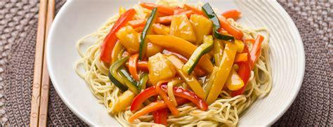 recettes de cuisine au wok recette de wok de légumes sauce aigre douce