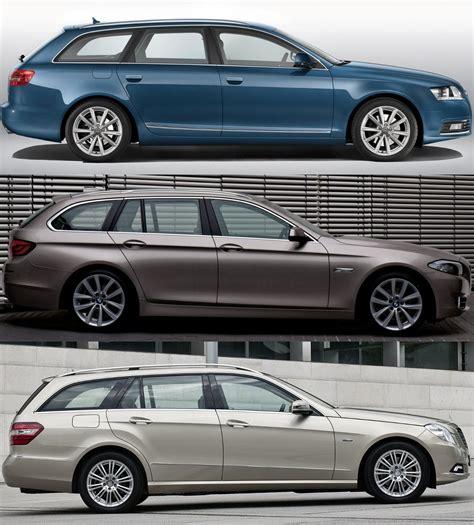 Photo Comparison F11 Bmw 5 Series Touring, Audi A6 Avant