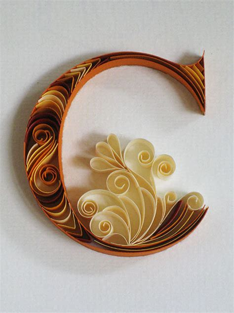 paper quilling typography xcitefunnet