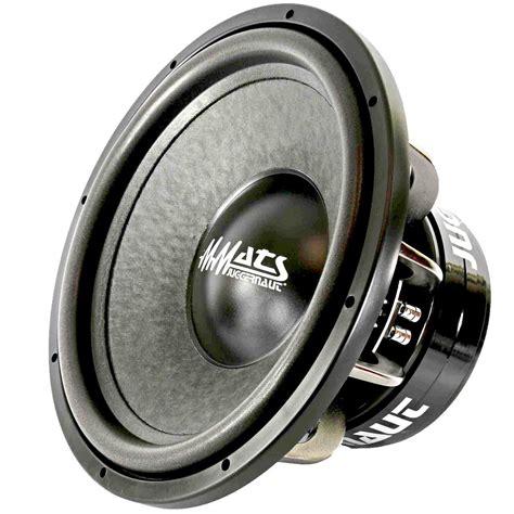 Inch Car Subwoofer Mmats Pro Audio Juggernaut