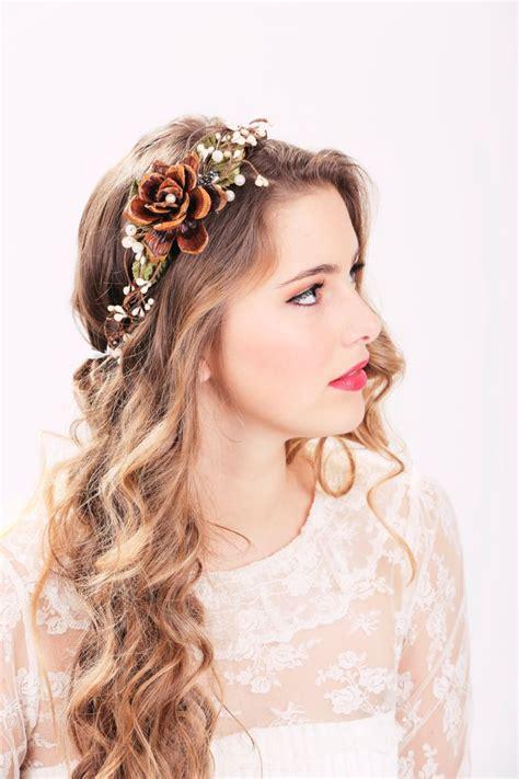 Autumn Wedding Package Flower Crown Wedding Headpiece