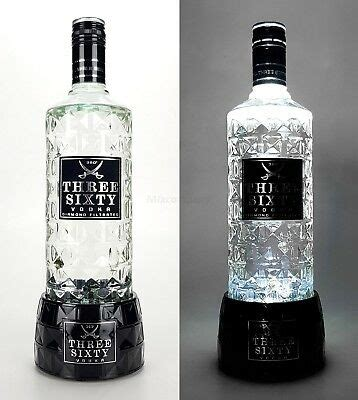 three sixty silber three sixty vodka mit russland flagge bling bling glitzerflasche in silber eur 22 41 picclick de