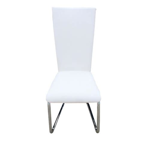 chaise blanche pas cher 2 chaises ultra design blanches achat vente chaise salle
