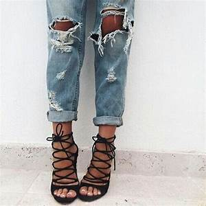 Ripped jeans on Tumblr