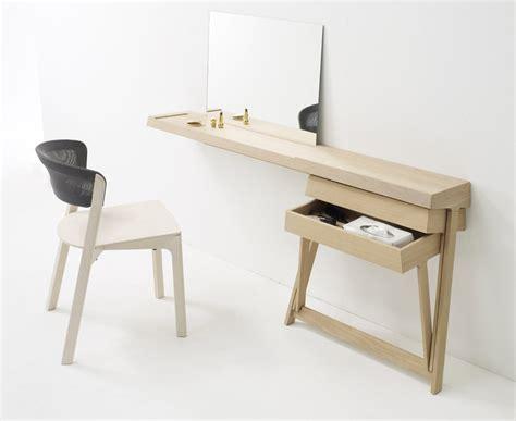 bureau coiffeuse bois 2 déco design