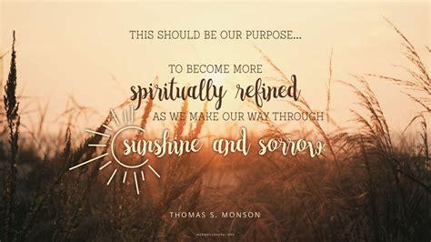 daily quote  purpose mormon channel