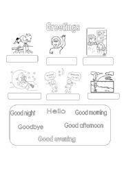 english worksheet    ingles