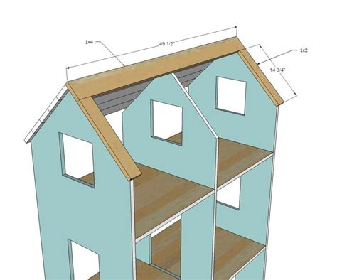 american girl doll house plans  woodworking projects