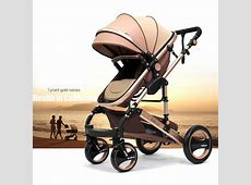 Luxury Baby Carriage Kinderwagen Infant Car Stokke Pram