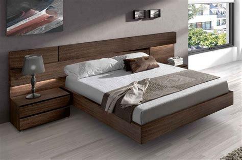 2412 high platform bed made in spain wood high end platform bed with