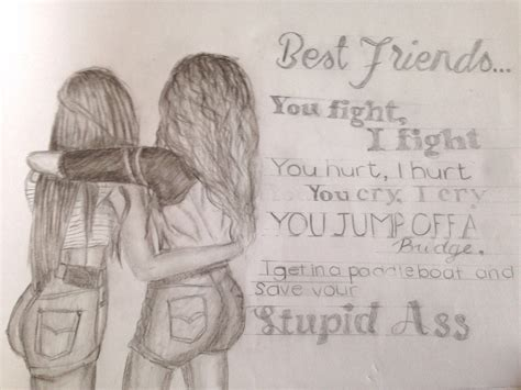 Best Friends Drawing Ideas And Images On Bing Find What Youll Love