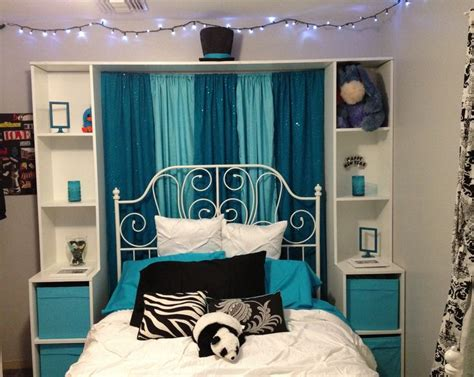 teal  aqua black  white bedroom bedroom ideas