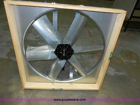 whole house fan shutter 30 quot whole house fan with shutter no reserve auction on 1498