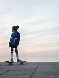 Skateboard Kids, a cool fall kids fashion shoot