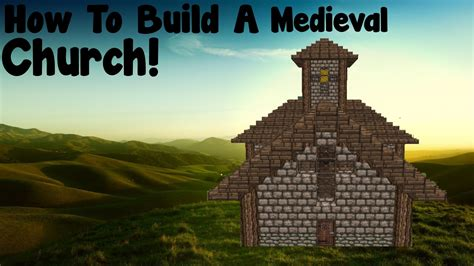 how to build a minecraft tutorial how to build a church
