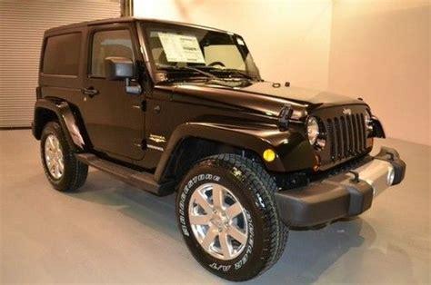 jeep sahara black 2 door purchase new new 2013 jeep wrangler 2 door hard top black