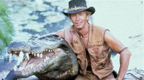 crocodile dundee    knew  paul hogan