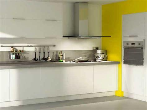 cuisine blanche et jaune cuisine blanche 20 idées déco pour s 39 inspirer deco cool