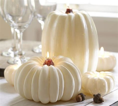 Pottery Barn Glass Bathroom Accessories by White Pumpkin Candle Candles By Pottery Barn
