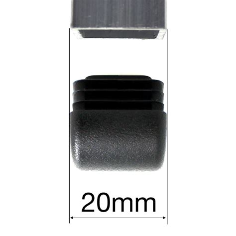 20mm square domed inserts for chair legs