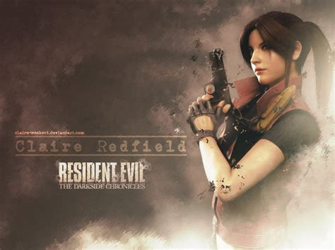 Claire Redfield Wallpaper Redc By Clairewesker1 On Deviantart