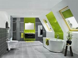 Kann Man Bei Gewitter Duschen : badideen f r b der mit dachschr ge bauhaus ~ Frokenaadalensverden.com Haus und Dekorationen