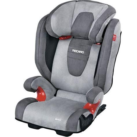 siege auto groupe 1 isofix recaro siège auto monza seatfix gr2 3 asphalt grey achat
