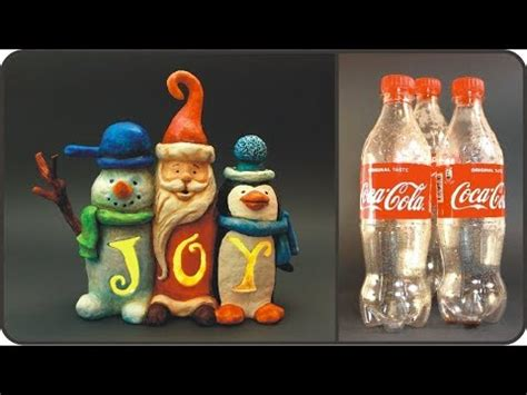 diy christmas joy sign  coke plastic bottles youtube