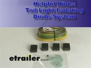 Tail Light Isolating Diode System With Wiring Harness Hopkins Tow Bar Wiring 38955