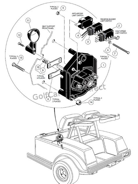 forwardreverse switch  golfcartpartsdirect