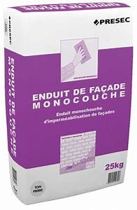 Enduit De Facade Brico Depot : enduit de fa ade monocouche blanc 25 kg brico d p t ~ Dailycaller-alerts.com Idées de Décoration
