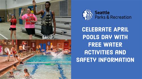 Celebrate April Pools Day With Free Water Activities And