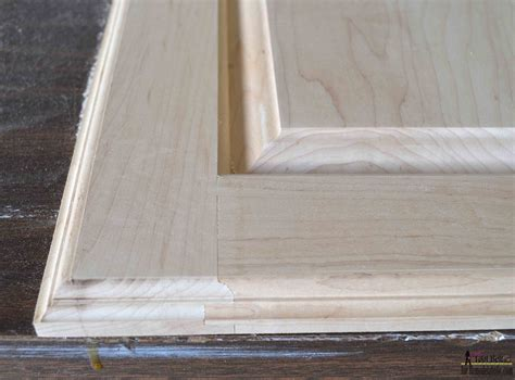 How To Make Raised Panel Cabinet Doors With A Router by Remodelaholic Raised Panel Cabinet Doors