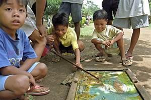 Rural, Village, -, Mindanao, Philippines, Stock, Image