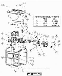 Powermate Formerly Coleman Pm0525750 Parts Diagram For