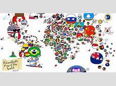 Polandball » Polandball Comics » Polandball Map of the
