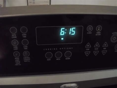 turn  oven lock