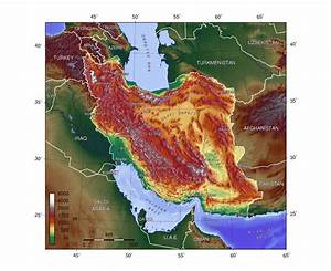 Maps of Iran | Detailed map of Iran in English | Tourist ...