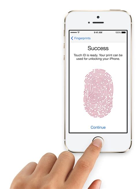 iphone touch id apple announces iphone 5s with touch id fingerprint