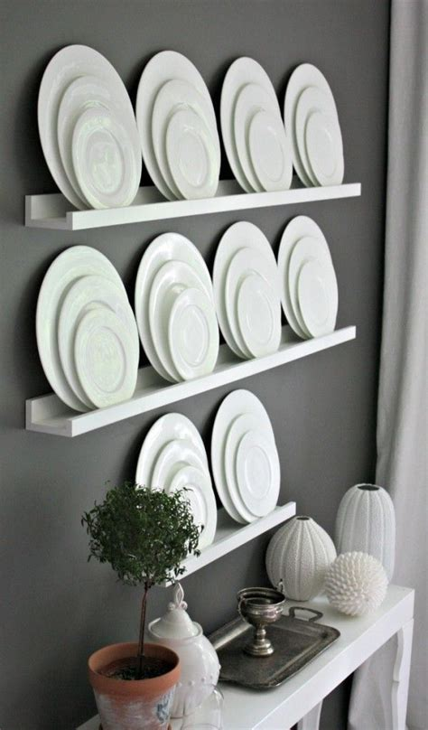 image result  unique ways  display dishes  wall diy dining room dining room