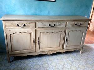relooking buffet en chene meuble sympa pinterest With charming relooking de meubles anciens 8 relooking de meuble comment repeindre une commode
