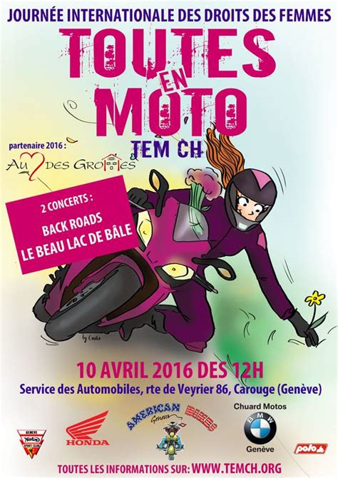 bureau des autos geneve toutes en moto ève 2016 le dimanche 10 avril à