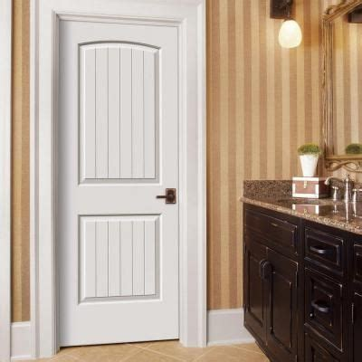 Home Depot 2 Panel Interior Doors by Jeld Wen Smooth 2 Panel Arch Top V Groove Painted Molded