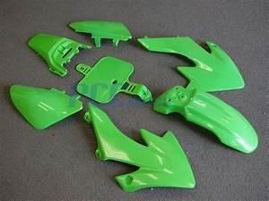 Green Plastic Kit Honda Crf Xr Xr50 Crf50 50 Bike Ps08