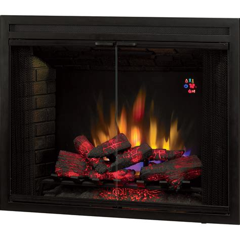 chimney  builders box led fireplace  doors
