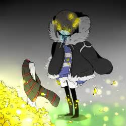 And Sans Crying Frisk Fell Flowerfell