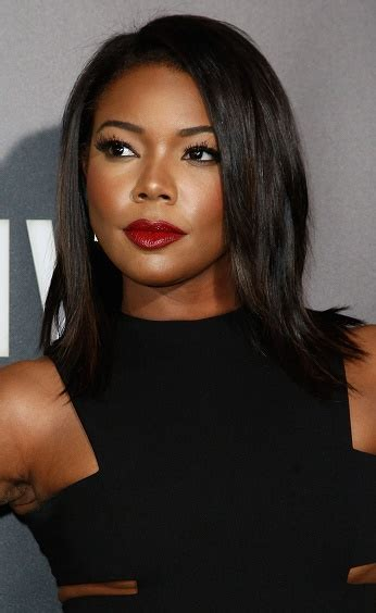 Gabrielle Union Hottest Hairstyle Photos   Sophisticated